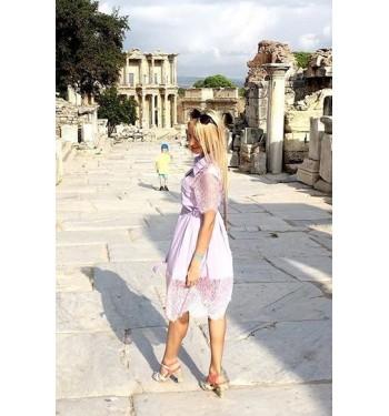 Инна (Платье 6764 нежно-фиолетовое)