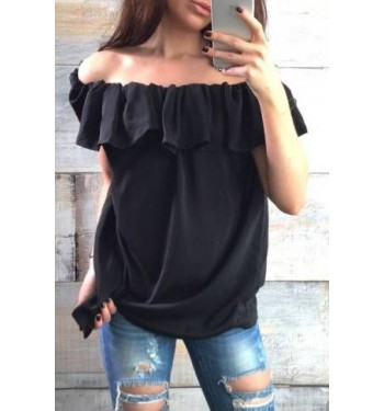 Блузка  3629 черная