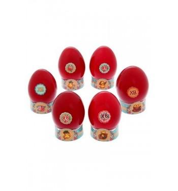 """Набор для декора 6 яиц пасхальный """"Печеный стиль"""""""