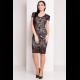 Платье Лук 7254 чёрное