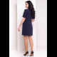 Платье Бонер 7257 тёмно-синее