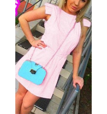 Платье  5075 нежно-розовое