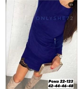 Платье женское в размер. Ткань спандекс.