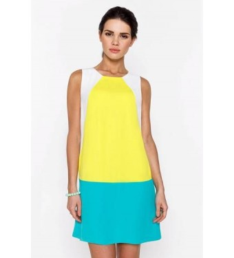 Платье 52000426 бирюзовое