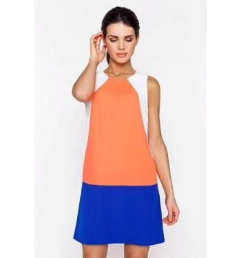 Платье 52000426 коралловое