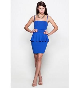 Платье 52000305 индиго