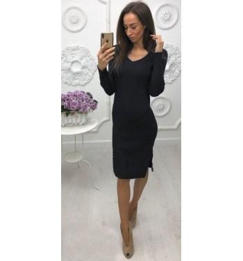 Платье 6874 черное