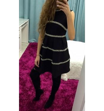Платье 6528 черное