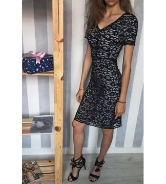 Платье 52000358 чёрное