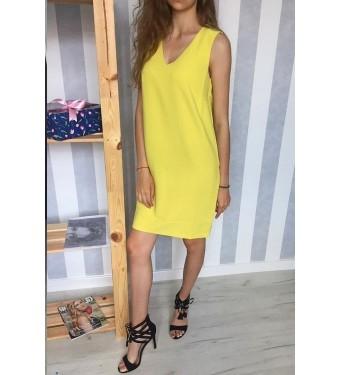 Платье 52000375 желтое