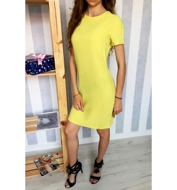 Платье 52000362 жёлтое