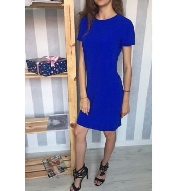Платье 52000362 синее