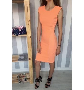 Платье 52000380 оранжевое