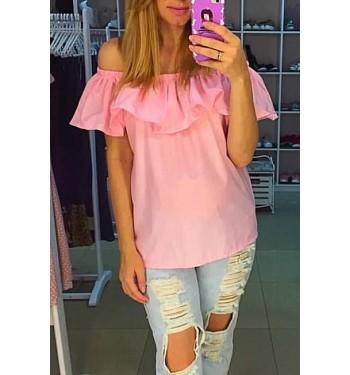 Блузка 3629 розовая