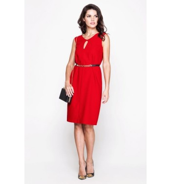 Платье 52000333 красное