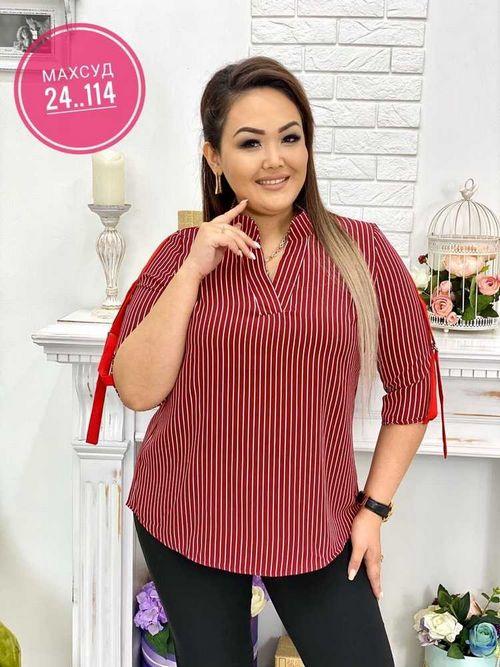 Блузка женская в размер. Ткань турецкий софт.