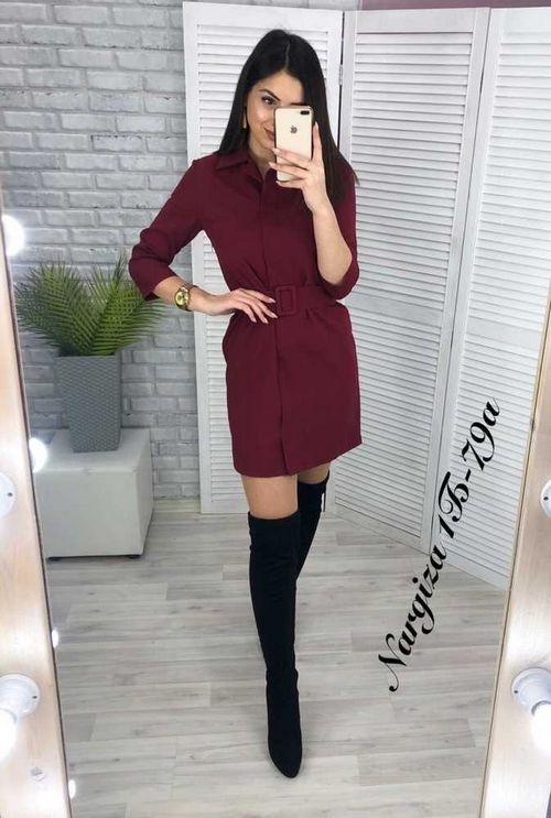 Платье женское в размер. Ткань барби. Качество люкс.