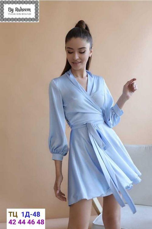 Платье Женское Ткань Шелк в размер